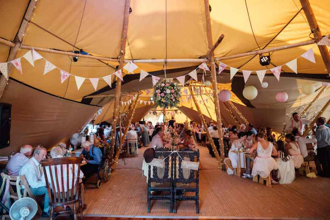 Lisa & Mark Sami Tipi Wedding by Matt Brown 54
