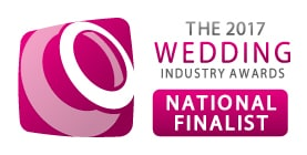 Sami Tipi National finalist for the wedding industry awards