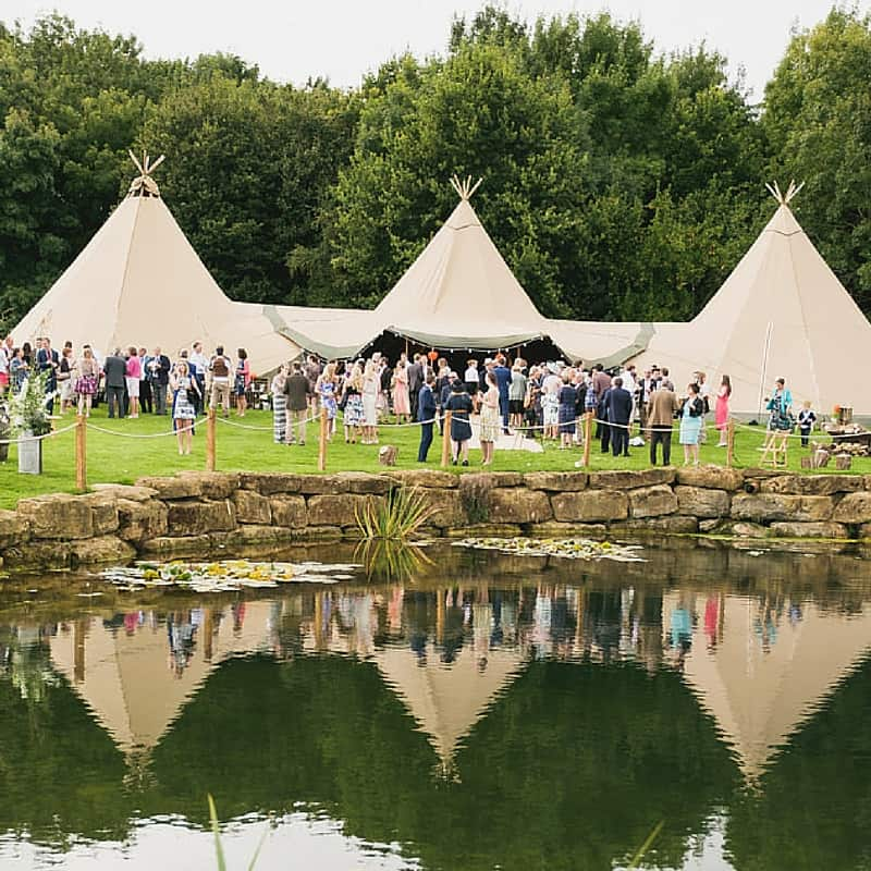 tipi hire for weddings from Sami Tipi