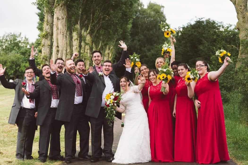 Traditional Ukrainian Wedding Meets Tipis