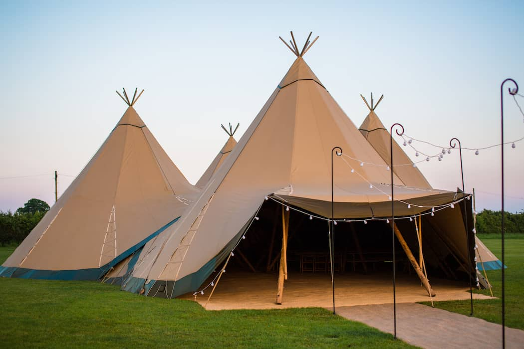 4 Giant Hat with Chill-Out Tipi Set up by Chris Terry 10