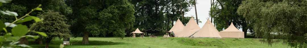 Northamptonshire outdoor wedding venues for Sami Tipi