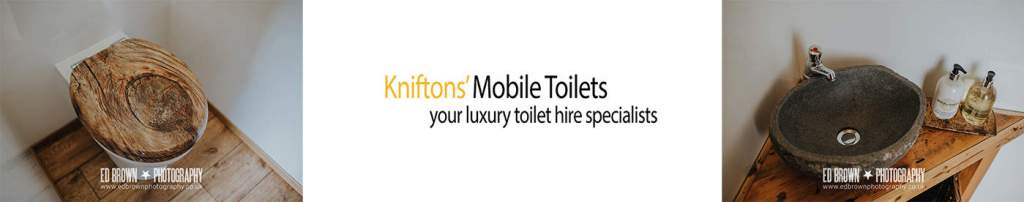 Kniftons mobile toilets at sami tipi open day
