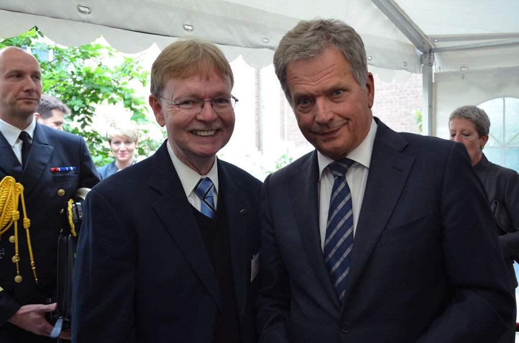 SAMK Rauma Fulbright Donnellan and President Niinistö Finland 2017