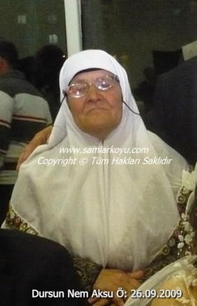 0101-Dursun Aksu Nem. Ö-26.09.2009
