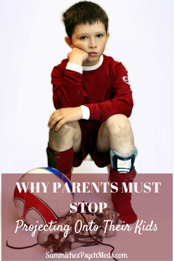 It's easy to view kids as little mini-mes. But the truth of the matter is, they are their own people. And parents need to make a pledge to stop projecting onto their kids.
