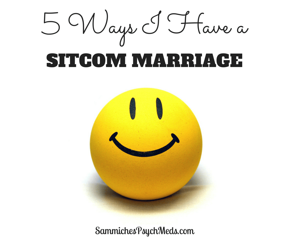 While this writer and her husband may not always see eye to eye, it's the hilarity that ensues from their disagreements that give them a sitcom marriage.
