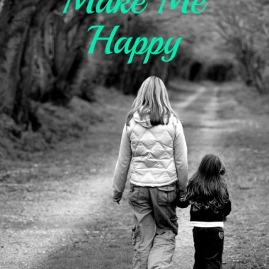 Our kids are able to make us feel so many different, strange, and woderful emotions, but happiness doesn't have to be one of them. In fact, maybe it shouldn't be one of them.