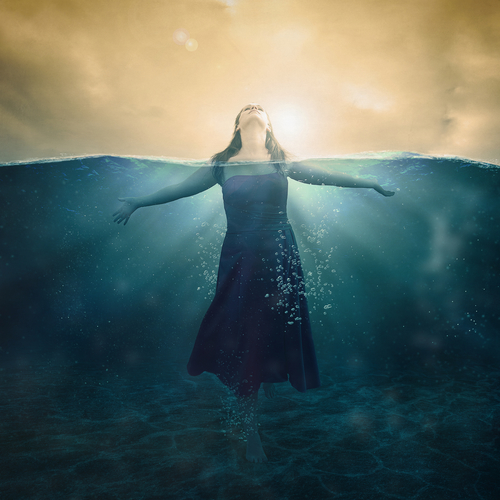 I am drowning, the weight of life's responsibilities pushing me down. I need to shed the weight and swim for the shore. For my children. For me.