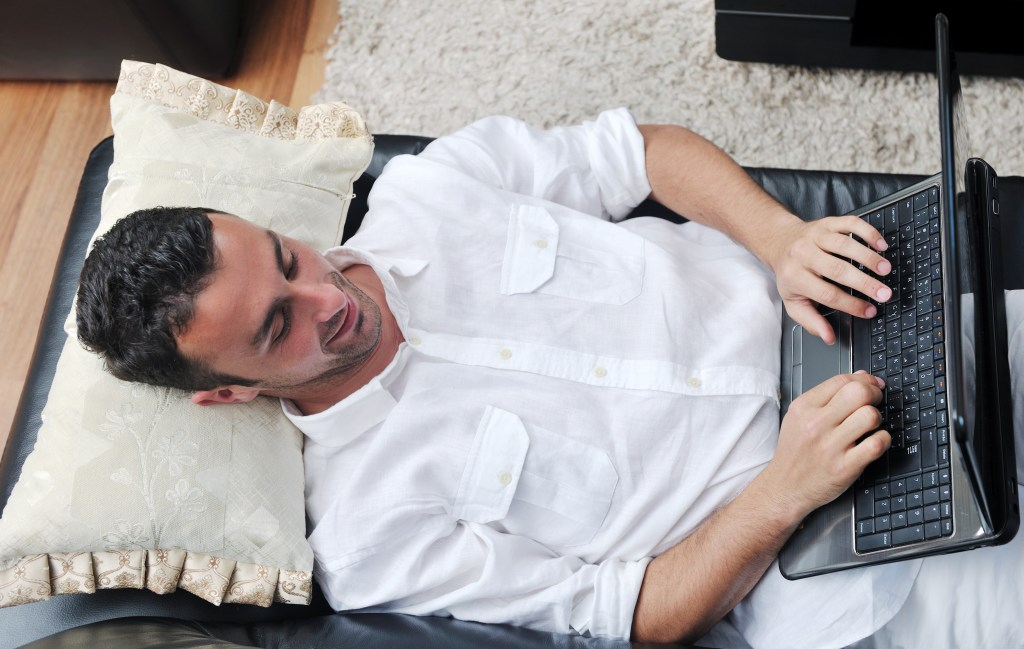 Dads Against Diaper Duty Founder Moves Pillow to Couch