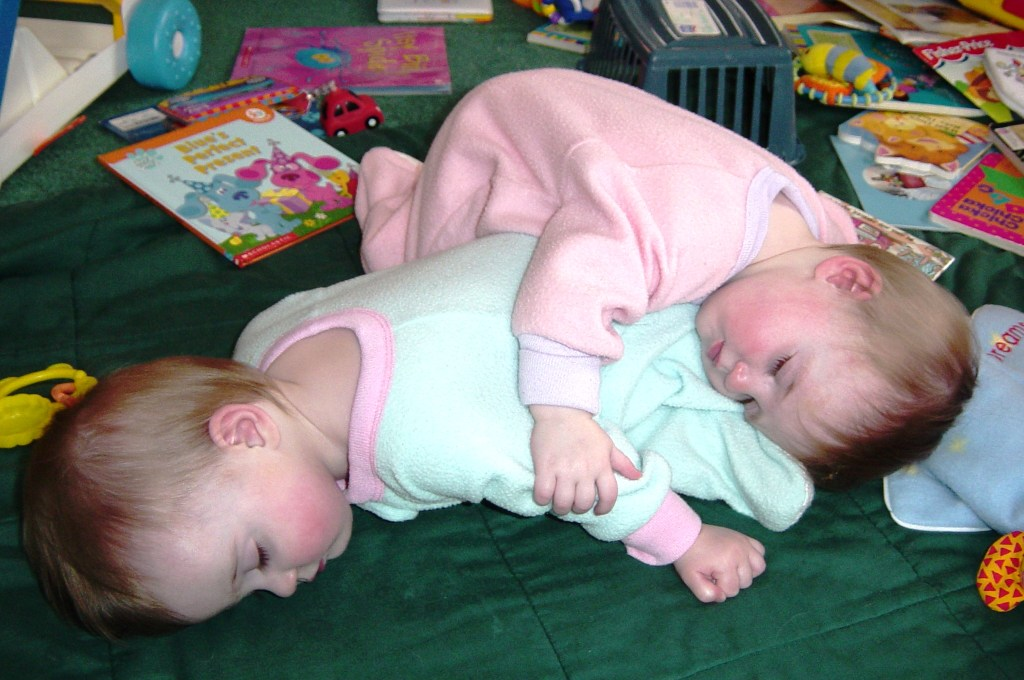 Mother of Twins Literally Doesn't Know How She Does It