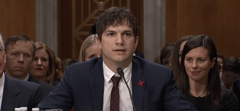 If You Didn't Think Ashton Kutcher Was Amazing Already, See What He's Doing About Child Sex Trafficking
