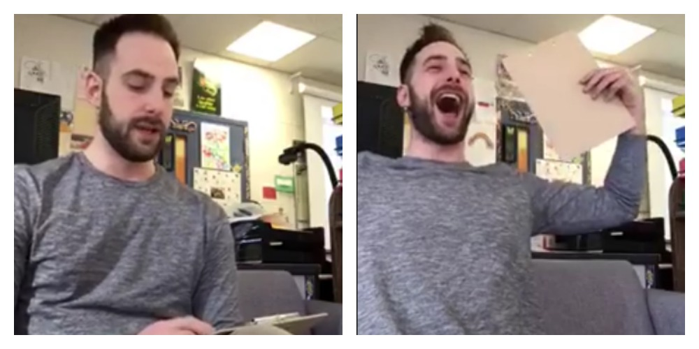 Teacher Pulls Hysterical April Fool's Prank on Students, Proves He's the Coolest Educator Ever