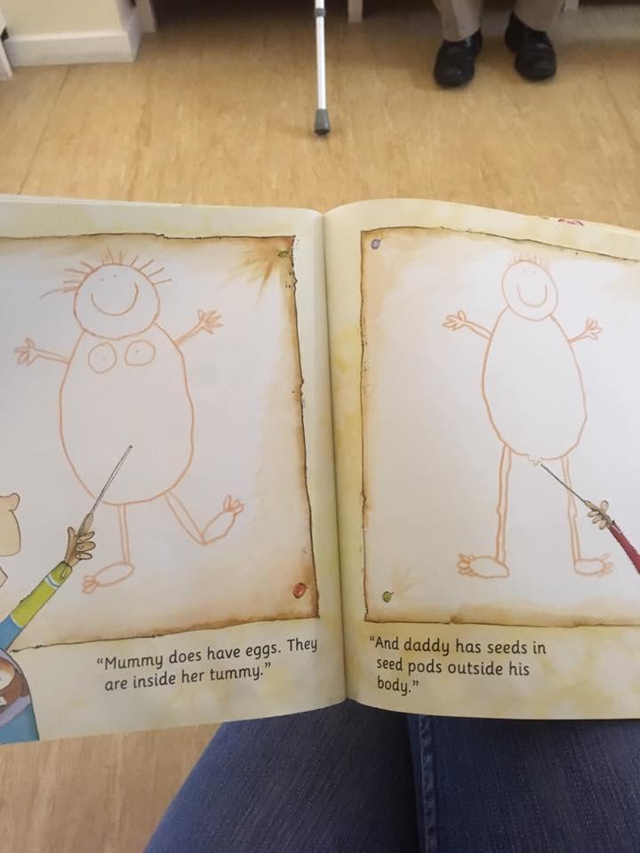 Mummy Laid an Egg illustrations