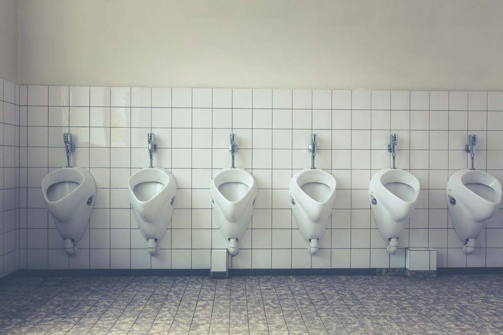 New, Urine-Scented Bathroom Tiles Help Busy Moms Save Time