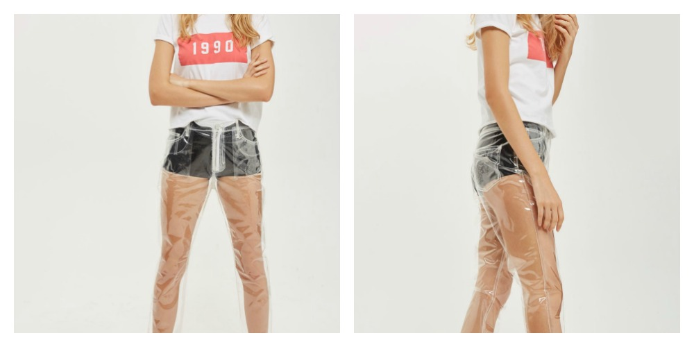 Now Retailers Are Selling Clear Plastic Jeans and WTF Is HAPPENING?