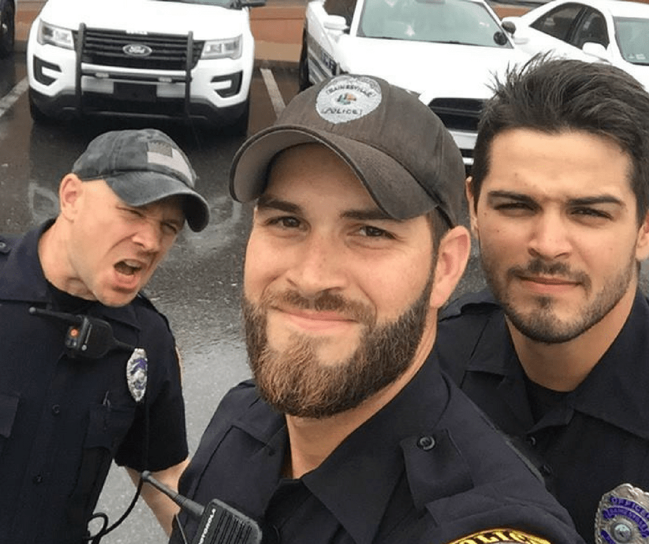 The Comments on Gainesville PD Officers' Hurricane Irma Selfie Are Thirsty AF, and We Love It