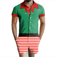 What the Elf? The Latest Male Romper Trend Is Taking On Christmas