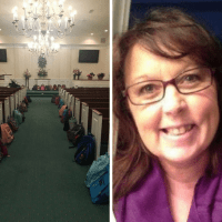 Mourners Fulfill Teacher's Dying Wish to Bring Backpacks Full of Supplies to Funeral
