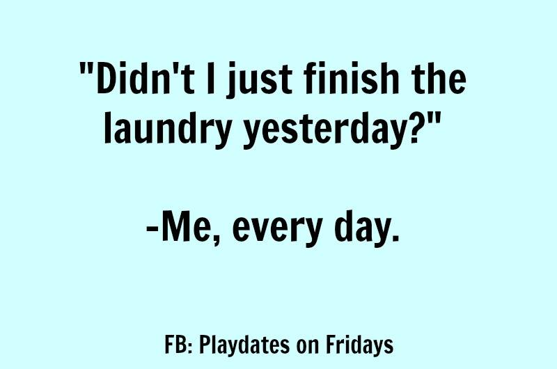 19 Super Funny Memes About Your Never Ending Pile Of Laundry