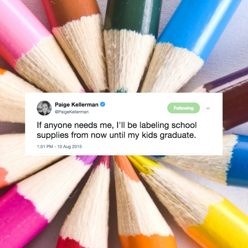 Back to school shopping sucks, but it's also a reason to celebrate, because the kids are GOING BACK TO SCHOOL. So here are one million pencils, teachers. Please just take my kids.
