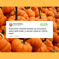 Love it or hate it, it's everywhere. You choose to fight the good fight against PSL, or you can succumb and spray yourself with pumpkin spice perfume. Whatever.