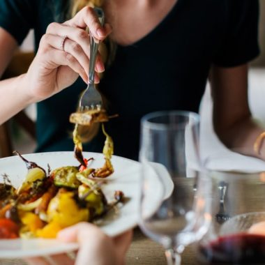 If you're a vegetarian, chances are you've dined with someone who either feels guilty for eating meat in front of you or judges you for not eating meat. How about this—you do you, and I'll do the same, k?