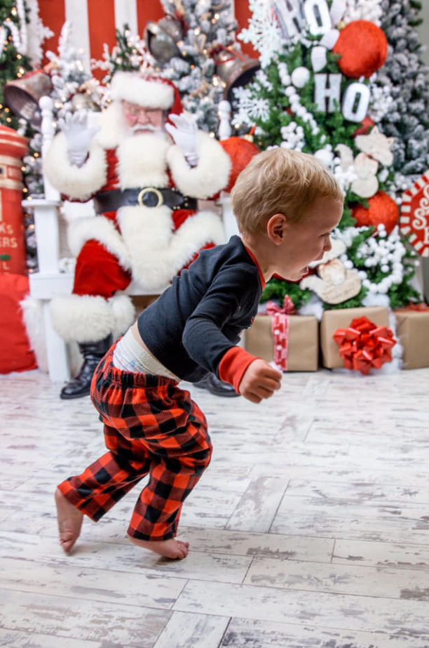 The best worst pictures of kids with Santa 2018 #ellenratemysantaphoto