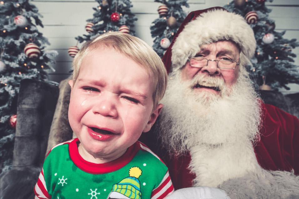 Bad Santa pics Toni Cade