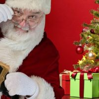 Christmas is about unconditional love, so no, I don't threaten that Santa won't bring gifts if my kids aren't well-behaved. They'll get presents either way.