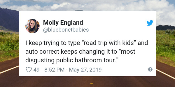 19 LOL-Worthy Tweets About Family Road Trips