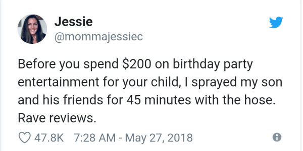20 Hilarious Tweets About the Madness Of Children's Parties