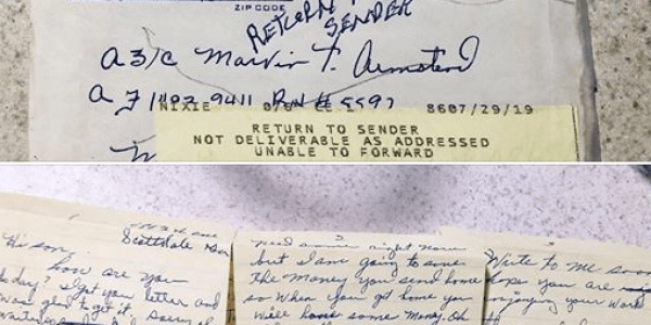 Woman Finds 1967 Letter Addressed to Missing Veteran, Locates Family