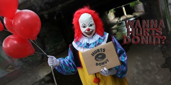 Hurts Donut Offers Clown Delivery Service To Scare The Sh*t Out Of Your Friends