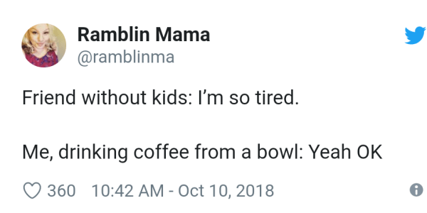 18 Hilarious Tweets That Show How Much Parents Rely On Coffee