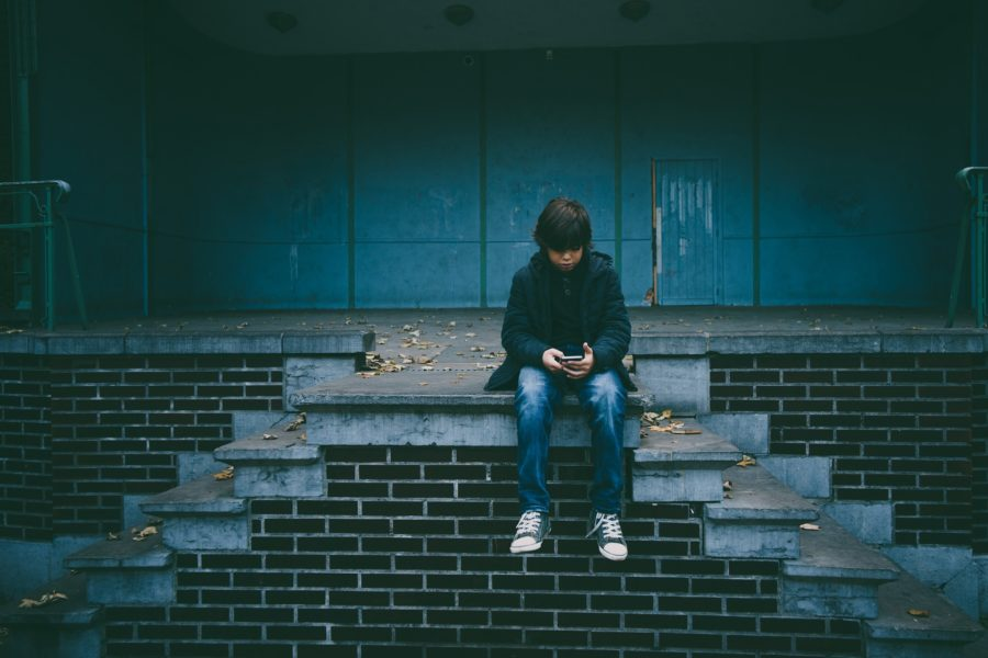When I saw that my son received a text message, I didn't react like most parents do. I thought, for a brief moment, that my son might have a friend.