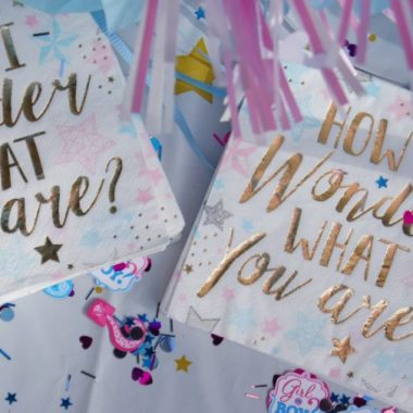 I've always hated gender reveal parties, and then due to odd COVID-19 related circumstances, I found myself having one. Here's how it went.