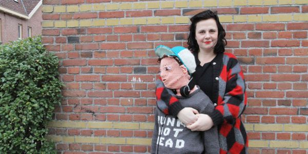 The Real Story: Mom Who DIY-ed a Full-Size, Knitted Yarn Son to Cuddle With