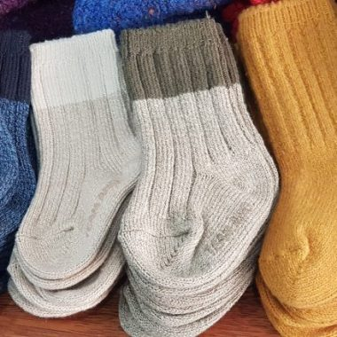 Who decided on the system for toddler socks? Are they evil? Do they want us to suffer? Because none of it makes sense, and moms need things to make sense.