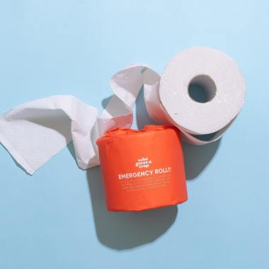 """Cottonelle: We're here to help you fulfill all your vandalism needs!"" the ad proclaims. ""Try our mega rolls for the ultra shenaniganning experience!"""