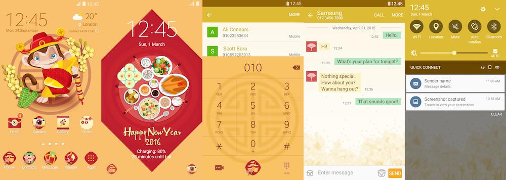 Samsung Galaxy Theme - Tet Vietnam (Happy New Year)