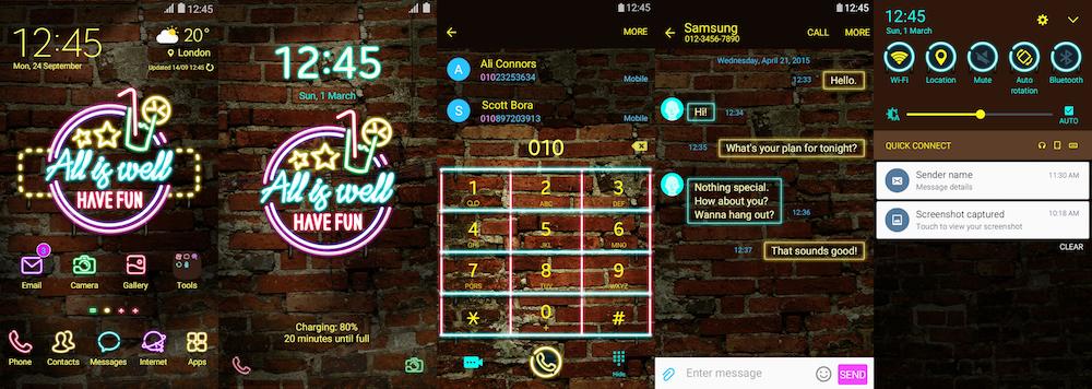 Samsung Galaxy Theme - Chalie Pub (Live)