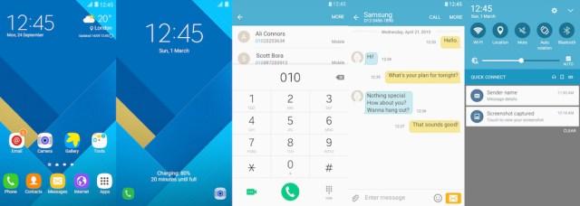 Samsung Galaxy Theme - Flat TouchWiz Design