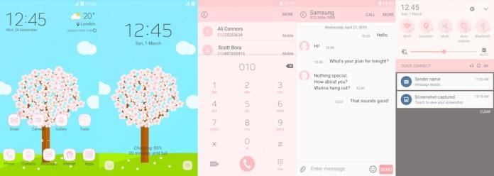 Samsung Galaxy Theme - [MINU]PinkBlossom