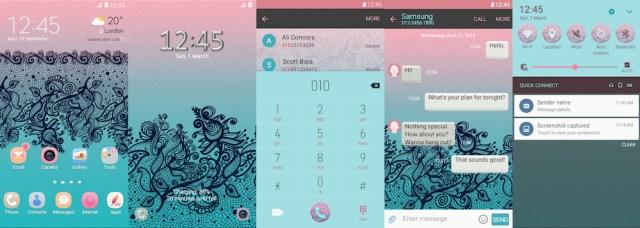 Samsung Galaxy Theme - Patterns
