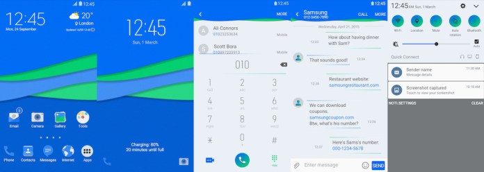 Samsung Galaxy Theme - Bleex Light - Paid