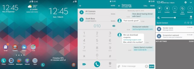 Samsung Galaxy Theme - Blue-Red - Paid