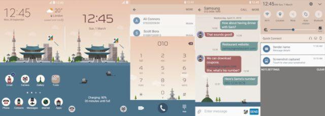 Samsung Galaxy Theme - Korea MINDON Design