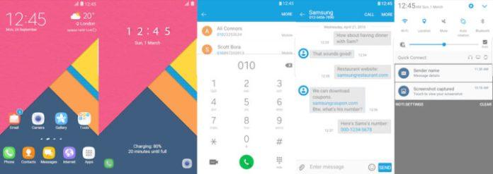 Samsung Galaxy Theme - Perfect Note UI