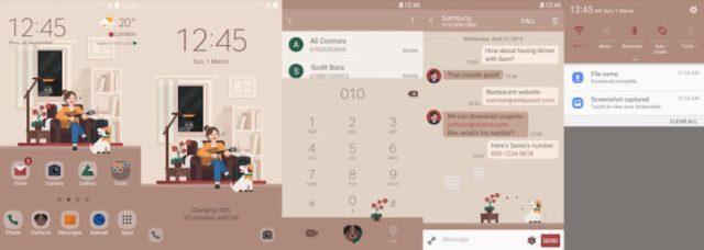 Samsung Galaxy Theme - [HIO] Roommate - Live